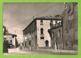 UDINE SACILE PALAZZO BIGLIA CARTOLINA FORMATO GRANDE VIAGGIATA NEL 1954 - Italy