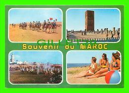 SOUVENIR DU MAROC - 4 MULTIVUES - - Maroc