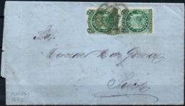 Bolivia 1873 CEFIBOL#23 Carta Completa Potosi-Sucre. RARO See Desc. - Bolivia