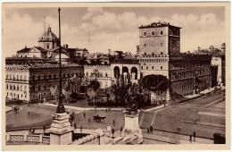 ROMA - PALAZZO VENEZIA - RESIDENZA DEL DUCE - MUSSOLINI - 1936 - Formato Piccolo - Roma (Rome)
