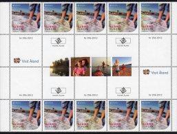Aland 2012 / Europa / Gutter Pair Strip - Europa-CEPT