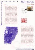 """(Prix à La Poste = 5.00 €) FRANCE 2005 / Document Officiel  """" ALBERT EINSTEIN """" N° YT  3779. DPO"""