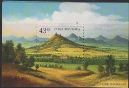 RO) 2009 CZECH REPUBLIC, NORTHEAST MOUNTAINS, LANDSCAPE, SOUVENIR MNH - Czech Republic