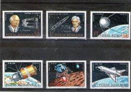 1983 - 25 Ans D Astronautique Mi 3933/3938 Et Yv  P.A. 287/292 MNH - Ungebraucht