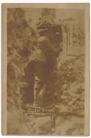 Argonne Carte Photo Allemande Sentinelle Au Créneau - Guerre 1914-18