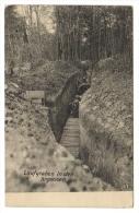 Argonne CPA Allemande Pose De Caillebottis Dans Une Tranchée - Guerre 1914-18