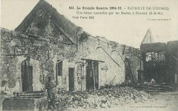 35BC    77 Nogeon Ferme Incendiée Par Les Allemands Guerre 14 / 18 (vue Pas Courante) - Frankreich