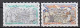 Sait-Pierre-et-Miquelon     1994   N°   595 / 596      COTE    1.90     EURO        ( 1020 ) - Non Classés