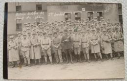 Carte Photo Militaire - Bitche Octobre 32 - Le 153 - 1ere Sortie - Regiments