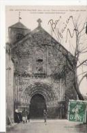 ARGENTON CHATEAU (DEUX SEVRES) 2762 PORTE D'ENTREE DE L'EGLISE XII E SIECLE) PETITE ANIMATION  1913 - Argenton Chateau