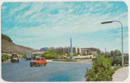 Guaymas - La Entrada: RENAULT 4,  4 OLD TRUCKS, ´PEPSI´ Sign - Auto/Car - Mexico - Passenger Cars