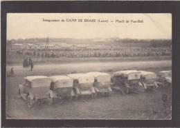 Loiret - Briare - Inauguration Du Camp Militaire , Une Partie De Foot-Ball - éd Boucheron - Voir Etat - Briare