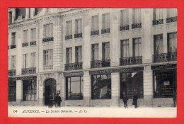 CPA: Thème Banques - Auxerre (Yonne) - Société Générale - Banques