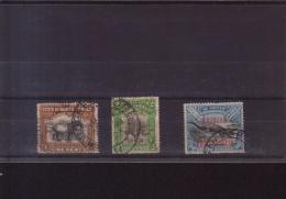North Borneo - Three Stamps Used In Singapore - SG135, Plus 158 & 160 Dated 1912 &1922 - North Borneo (...-1963)
