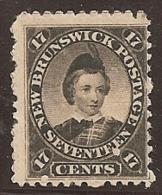 NUEVO BRUNSWICK 1860/63 - Yvert #9 - MLH * - Unused Stamps