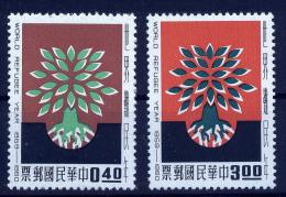 A1903) Taiwan China Mi.357-358 ** Unused MNH - 1945-... République De Chine