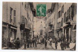 Cpa 73 - Moutiers - La Grande Rue - 1909 - Moutiers