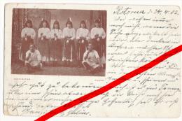 PostCard - Rotorua - Maori - 1902 - Neuseeland