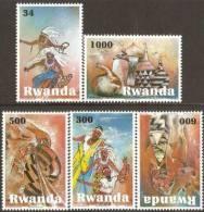 rwn1001 Rwanda 2010 ART Culture of Rwanda 5v