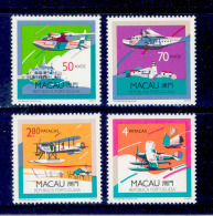 ! ! Macau - 1989 Airplanes (Complete Set) - Af. 602 To 605 - MNH - Macao