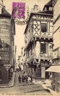 CHALON-sur-SAÔNE  La Rue Saint-Vincent - Chalon Sur Saone
