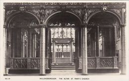 WELLINGBOROUGH - ST MARYS CHURCH -THE ALTAR - Northamptonshire