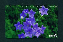 JAPAN - Magnetic Phonecard - Flower(s) As Scan (111-069) - Fleurs