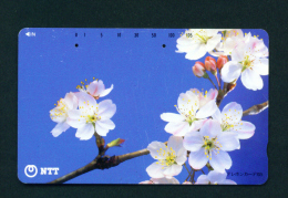 JAPAN - Magnetic Phonecard - Flower(s) As Scan (111-094) - Blumen