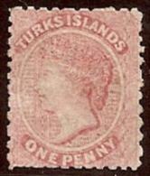 TURCAS Y CAICOS 1867 - Yvert #1 - Mint No Gum (*) - Turks & Caicos