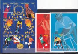 Stamps ERITREA 1996 SC 271-273 ATLANTA USA OLYMPIC GAMES MNH SET ER#10 RAR LOOK - Eritrea
