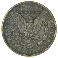 U.S.A. - STATI UNITI D' AMERICA - 1 DOLLAR ( 1899 - Mint: O ) MORGAN - AG / SILVER - 1878-1921: Morgan