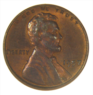 WHEAT PENNY - 1957 LINCOLN (P) - NICE RED COIN - Emissioni Federali
