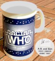 Doctor WHO 1983, Mug Anglais Officiel De La Série Télé De La BBC, état NEUF - Other