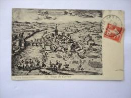 Cpa - 91 -CORBEIL - Siege De Corbeil - Voyagée En 1912 - Corbeil Essonnes