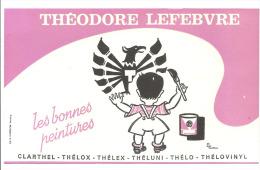 Buvard , Théodore Lefèbvre - Les Bonnes Peintures - Buvards, Protège-cahiers Illustrés