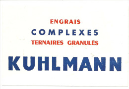 Buvard , Engrais, Complexes, Ternaires Granulés Kuhlmann - Buvards, Protège-cahiers Illustrés