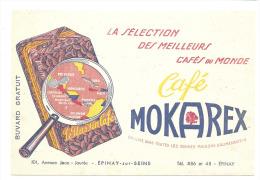 Buvard , Café Mokarex - Epinay-sur-Seine (93) - Alimentaire