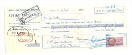 Lettre De Change, Manufacture Thouarsaise De Sabots - Adrien Palluault - Thouars (79)  - 1959 - Lettres De Change
