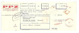 Lettre De Change,Les Spécialités PPZ - EtsPierre P. Zecchini - Bagnolet (93) - 1960 - Lettres De Change