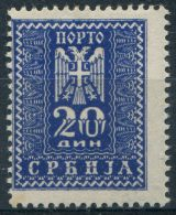 Y&T Occupation Allemande Service N° 22 * - Serbie
