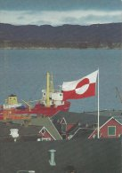 Greenland - Ship In The Port Of Aasiaat  B-871 - Greenland