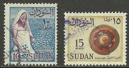 SUDAN 2 Older Stamps O - Soudan (1954-...)