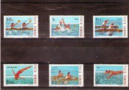 1983 - Sports Nautique 3972/3977 Et Yv 3456/3461 MNH - Ungebraucht
