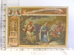 Chromo Alcool De Menthe De Ricqlès - Religion - 46 Récompenses (ange) - Route De La Terre Promise - Chromos