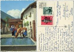 Austria - Obsteig - Trachtengruppe - Used 1964 - Nice Stamps - Österreich