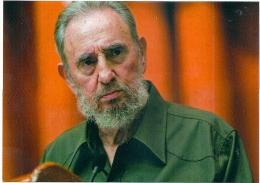 FIDEL CASTRO, CUBAN DICTATOR, POSTCARD UNUSED - Personnages Historiques
