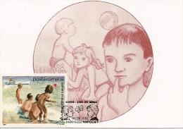 LIFEGUARD PEOPLE, CM, MAXICARD, CARTES MAXIMUM, 1993, ROMANIA - Altri