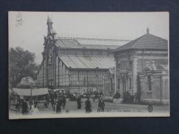 Ref2110 A CPA Animée De Belfort, Les Halles - LL - Publicités Murales Menier Et Chicorée - N°38 - Postcards