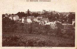 CPA - CALLAC (22)-  Vue Générale Sur Le Bourg - Callac