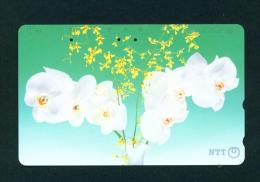 JAPAN - Magnetic Phonecard - Flower(s) As Scan (331-310) - Blumen